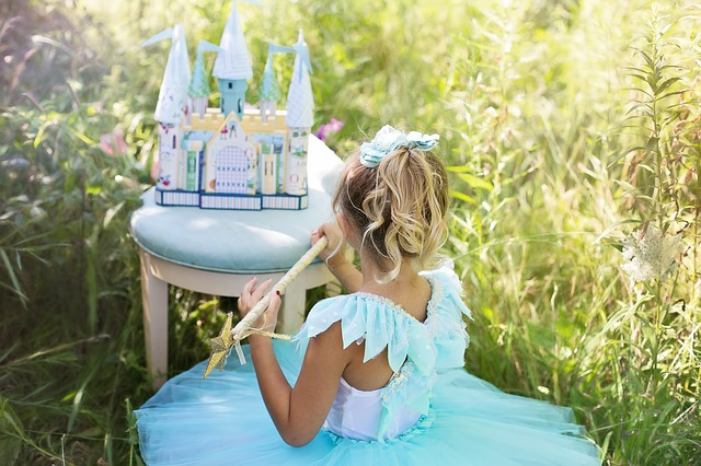 petite princesse bleue